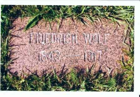 WOLF, FRIEDRICH - McIntosh County, North Dakota | FRIEDRICH WOLF - North Dakota Gravestone Photos