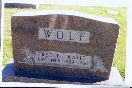 WOLF, KATIE - McIntosh County, North Dakota | KATIE WOLF - North Dakota Gravestone Photos