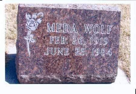 WOLF, MEDA - McIntosh County, North Dakota | MEDA WOLF - North Dakota Gravestone Photos