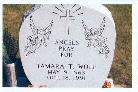 WOLF, TAMARA T. - McIntosh County, North Dakota | TAMARA T. WOLF - North Dakota Gravestone Photos