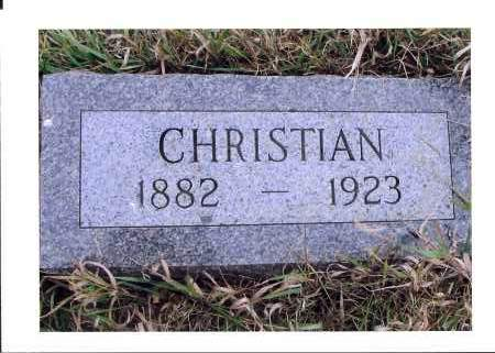 WOLFF, CHRISTIAN - McIntosh County, North Dakota | CHRISTIAN WOLFF - North Dakota Gravestone Photos