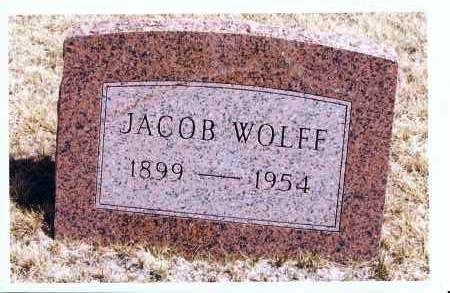 WOLFF, JACOB - McIntosh County, North Dakota | JACOB WOLFF - North Dakota Gravestone Photos