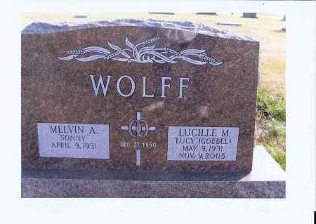 """WOLFF, LUCILLE M. """"LUCY"""" - McIntosh County, North Dakota 
