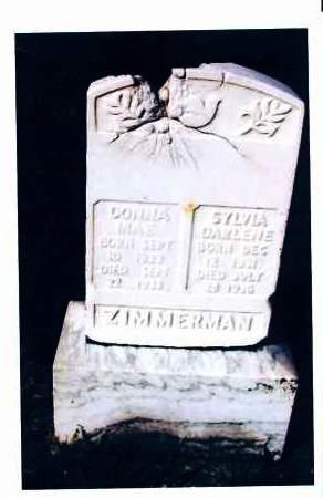 ZIMMERMAN, DONNA MAE - McIntosh County, North Dakota | DONNA MAE ZIMMERMAN - North Dakota Gravestone Photos