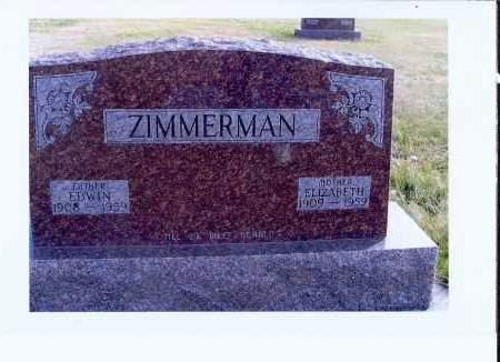 ZIMMERMAN, ELIZABETH - McIntosh County, North Dakota   ELIZABETH ZIMMERMAN - North Dakota Gravestone Photos