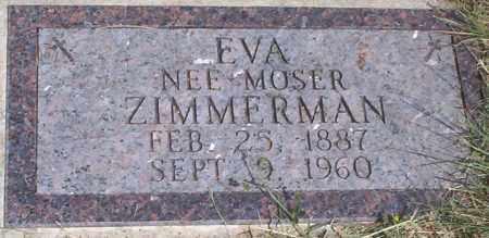 ZIMMERMAN, EVA - McIntosh County, North Dakota | EVA ZIMMERMAN - North Dakota Gravestone Photos