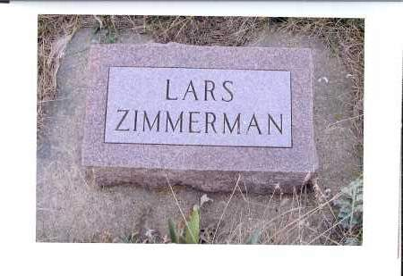 ZIMMERMAN, LARS - McIntosh County, North Dakota | LARS ZIMMERMAN - North Dakota Gravestone Photos