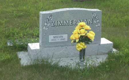 ZIMMERMAN, MELVIN - McIntosh County, North Dakota   MELVIN ZIMMERMAN - North Dakota Gravestone Photos