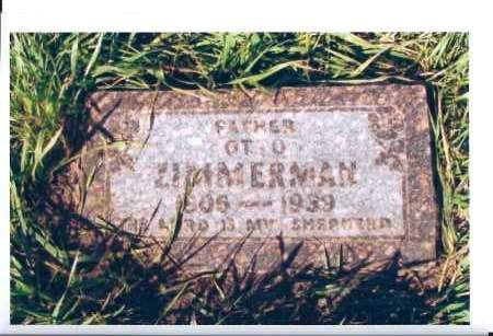 ZIMMERMAN, OTTO - McIntosh County, North Dakota | OTTO ZIMMERMAN - North Dakota Gravestone Photos