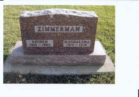 ZIMMERMAN, MAGDALENA - McIntosh County, North Dakota | MAGDALENA ZIMMERMAN - North Dakota Gravestone Photos