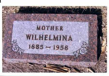 ZIMMERMAN, WILHELMINA - McIntosh County, North Dakota | WILHELMINA ZIMMERMAN - North Dakota Gravestone Photos