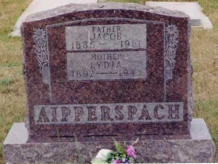 FROESCHLE AIPPERSBACH, LYDIA - Mercer County, North Dakota | LYDIA FROESCHLE AIPPERSBACH - North Dakota Gravestone Photos