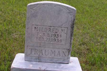 TRAUMAN, MILDRED M. - Morton County, North Dakota | MILDRED M. TRAUMAN - North Dakota Gravestone Photos