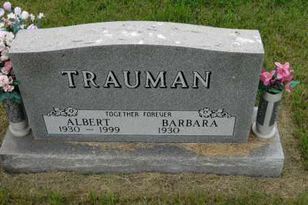 TRAUMAN, ALBERT - Morton County, North Dakota | ALBERT TRAUMAN - North Dakota Gravestone Photos