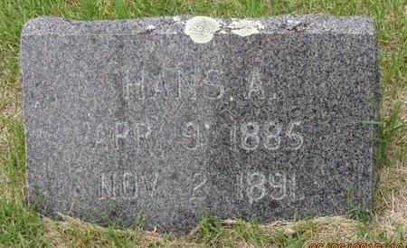 AASER, HANS A. - Nelson County, North Dakota | HANS A. AASER - North Dakota Gravestone Photos