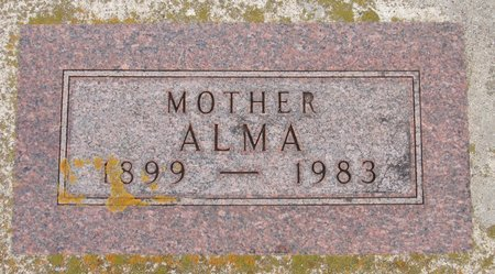 ALME, ALMA - Nelson County, North Dakota | ALMA ALME - North Dakota Gravestone Photos