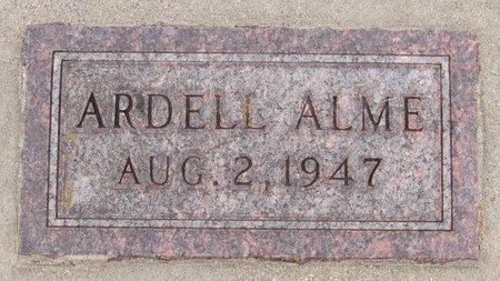 ALME, ARDELL - Nelson County, North Dakota | ARDELL ALME - North Dakota Gravestone Photos