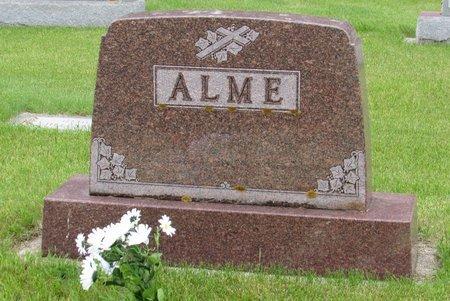 ALME, FAMILY MARKER - Nelson County, North Dakota | FAMILY MARKER ALME - North Dakota Gravestone Photos