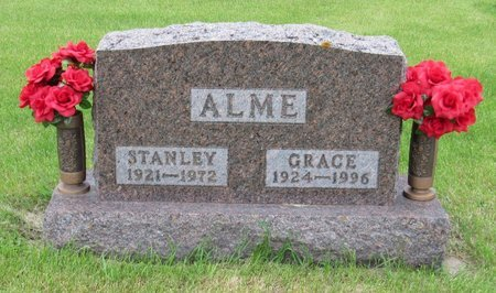 ALME, STANLEY - Nelson County, North Dakota | STANLEY ALME - North Dakota Gravestone Photos