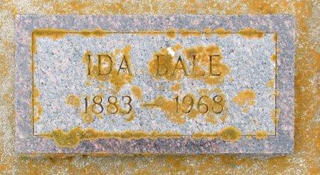 BALE, IDA - Nelson County, North Dakota   IDA BALE - North Dakota Gravestone Photos