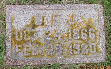 BARSNESS, OLE J. - Nelson County, North Dakota | OLE J. BARSNESS - North Dakota Gravestone Photos