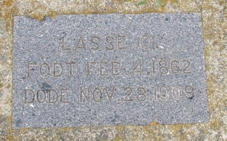 BERDAHL, LASSE O. - Nelson County, North Dakota   LASSE O. BERDAHL - North Dakota Gravestone Photos