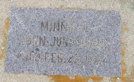 BERDAHL, MINNIE L. - Nelson County, North Dakota | MINNIE L. BERDAHL - North Dakota Gravestone Photos