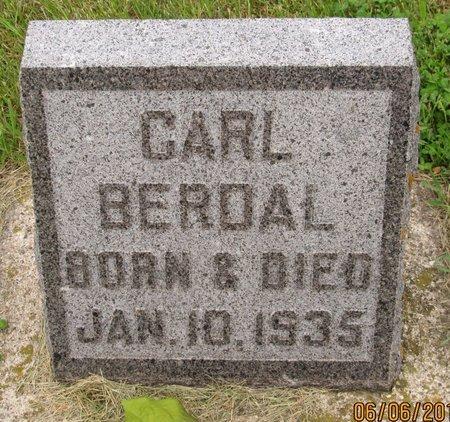 BERDAL, CARL - Nelson County, North Dakota | CARL BERDAL - North Dakota Gravestone Photos