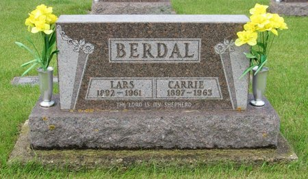BERDAL, LARS - Nelson County, North Dakota | LARS BERDAL - North Dakota Gravestone Photos