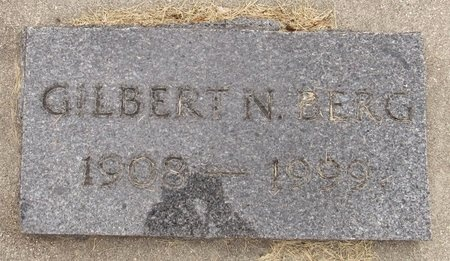 BERG, GILBERT N. - Nelson County, North Dakota   GILBERT N. BERG - North Dakota Gravestone Photos