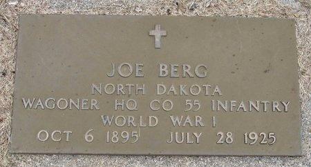 BERG, JOE - Nelson County, North Dakota | JOE BERG - North Dakota Gravestone Photos