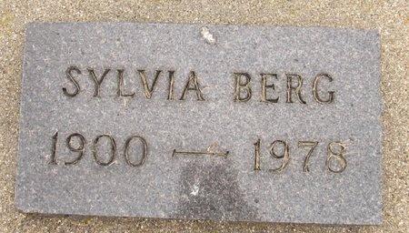 BERG, SYLVIA - Nelson County, North Dakota | SYLVIA BERG - North Dakota Gravestone Photos