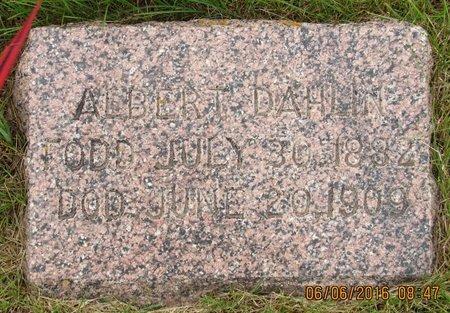 DAHLIN, ALBERT - Nelson County, North Dakota   ALBERT DAHLIN - North Dakota Gravestone Photos