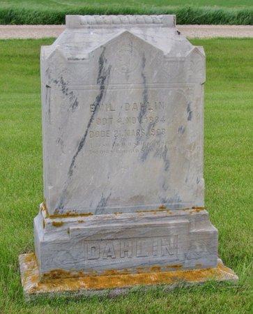 DAHLIN, EMIL - Nelson County, North Dakota | EMIL DAHLIN - North Dakota Gravestone Photos