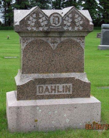 DAHLIN, FAMILY MARKER - Nelson County, North Dakota   FAMILY MARKER DAHLIN - North Dakota Gravestone Photos