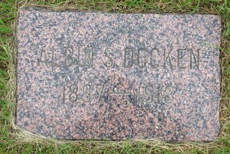 DOCKEN, ALBIN S. - Nelson County, North Dakota   ALBIN S. DOCKEN - North Dakota Gravestone Photos