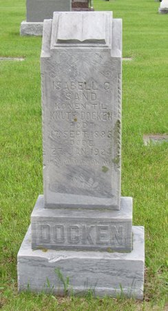 SAND DOCKEN, ISABELL C. - Nelson County, North Dakota | ISABELL C. SAND DOCKEN - North Dakota Gravestone Photos