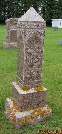 HANSEN, LAURENSA - Nelson County, North Dakota | LAURENSA HANSEN - North Dakota Gravestone Photos
