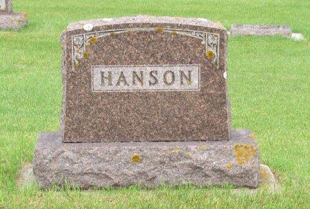 HANSON, FAMILY MARKER - Nelson County, North Dakota   FAMILY MARKER HANSON - North Dakota Gravestone Photos