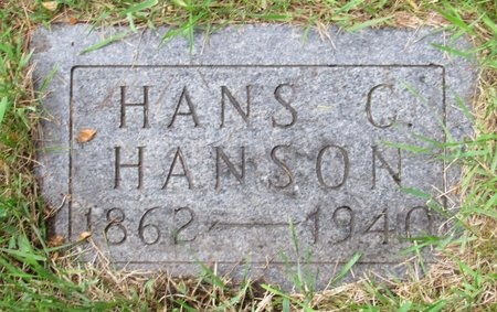 HANSON, HANS C. - Nelson County, North Dakota | HANS C. HANSON - North Dakota Gravestone Photos