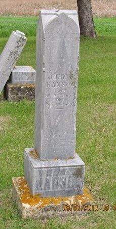 HANSON, JOHN S. - Nelson County, North Dakota   JOHN S. HANSON - North Dakota Gravestone Photos