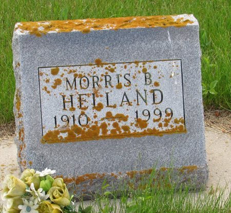HELLAND, MORRIS B. - Nelson County, North Dakota   MORRIS B. HELLAND - North Dakota Gravestone Photos