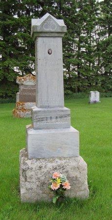 HELLAND, TINA - Nelson County, North Dakota | TINA HELLAND - North Dakota Gravestone Photos