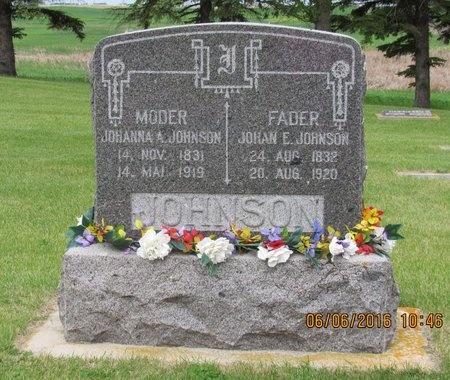 JOHNSON, JOHAN E. - Nelson County, North Dakota   JOHAN E. JOHNSON - North Dakota Gravestone Photos