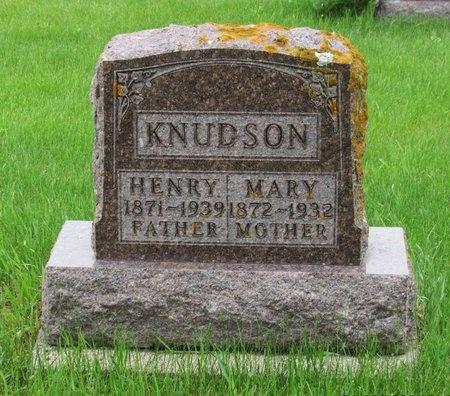 KNUDSON, HENRY - Nelson County, North Dakota | HENRY KNUDSON - North Dakota Gravestone Photos