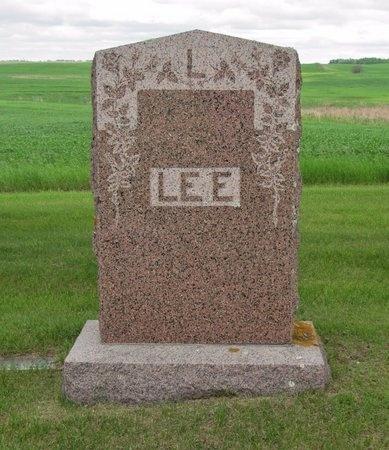 LEE, FAMILY MARKER - Nelson County, North Dakota | FAMILY MARKER LEE - North Dakota Gravestone Photos