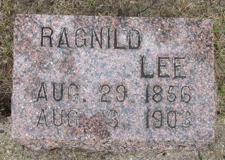 LEE, RAGNILD - Nelson County, North Dakota   RAGNILD LEE - North Dakota Gravestone Photos