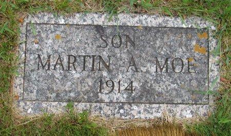 MOE, MARTIN A. - Nelson County, North Dakota | MARTIN A. MOE - North Dakota Gravestone Photos