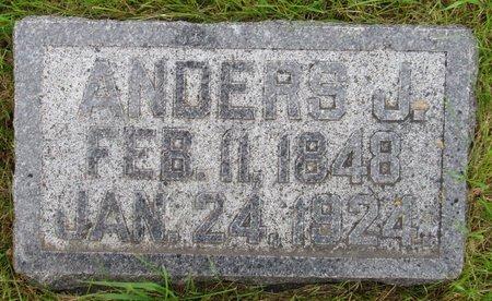 MOEN, ANDERS J. - Nelson County, North Dakota   ANDERS J. MOEN - North Dakota Gravestone Photos