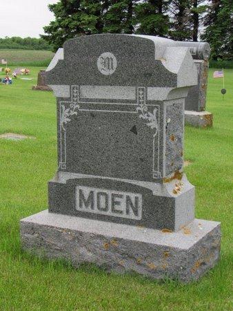 MOEN, FAMILY MARKER - Nelson County, North Dakota   FAMILY MARKER MOEN - North Dakota Gravestone Photos